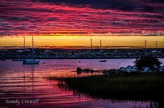 Cape Sable Island Causeway - discover our sensational sunsets!  Sandy Crowell Photo