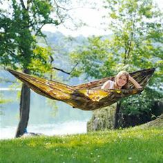 Amazonas Single Travel Hammock - Camouflage