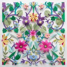 Helen Musselwhite's paper design for Liberty fabric