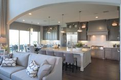 Toll Brothers - Venticello Kitchen - Cane Island - Katy, TX - Waller County