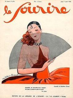 Tajana Veljkovic saved to Le Sourire Madeleine Giraud Le Sourire 1930 Vintage Advertisements, Vintage Ads, Vintage Posters, Vintage Magazines, Male Magazine, Magazine Art, Magazine Covers, Inspiration Art, Art Inspo