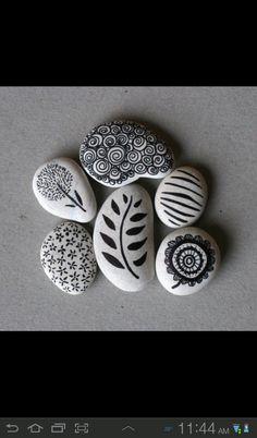 Stones+Sharpie