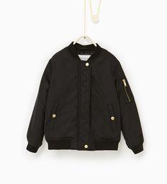 Basic bomber jacket from Zara
