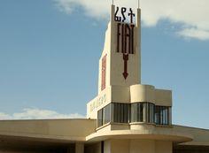 Historic FIAT dealership in Asmara