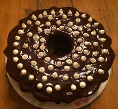 Chocolate stout cake #birthday #beer #chocolate