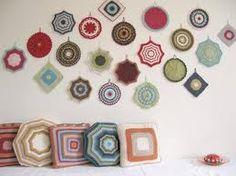 Crochet wall hangings
