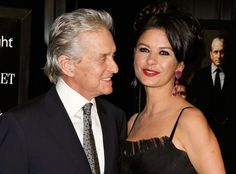 Here's Looking at You from Catherine Zeta-Jones & Michael Douglas: Romance Rewind | E! Online