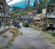 Franklin and South Manchester Gallery 2 ‹ vikas chander Ho Trains, Model Trains, Scale Model Architecture, South Manchester, Model Train Layouts, Scale Models, Diorama, Scenery, Street View