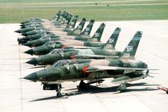 F-105 Thunderchiefs 465th Tactical   Fighter Squadron