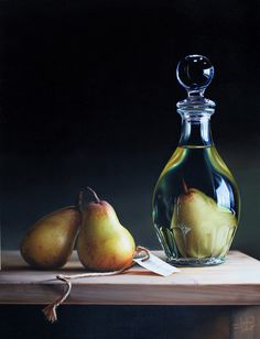 Poire Williams: A pear liqueur often with a pear grown in the bottle!