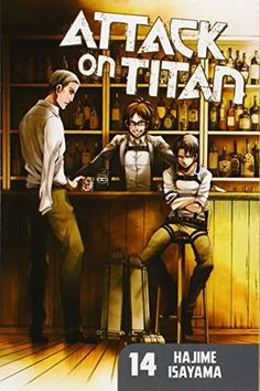 Attack on Titan 14 by Hajime Isayama http://www.amazon.com/dp/1612626807/ref=cm_sw_r_pi_dp_S8kivb1CJYBQC