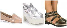 Conversa de Closet: Sapatos metalizados