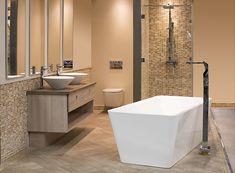 Esta tina te dejará sin palabras. #Sodimac #Homecenter #Deco #Decor #Diseño #Baño #Tina