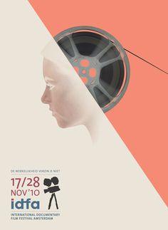 Film Festival IDFA Poster 2010