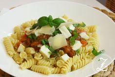 Pasta mit frischer Tomatensauce by Zuckergewitter
