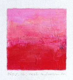 Nov. 16 2016 Original Abstract Oil Painting by hiroshimatsumoto
