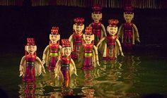 Marionetas de agua vietnamitas.