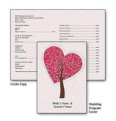 Create a Wedding Program With These Stylish Free Templates: Southworth's Free Wedding Program Templates