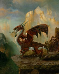 Dragons, Dragons, and more Dragons! A brief history of the Dragon [free dragon wallpaper] The Realistic Dragon Art of Howard David Johnson Welsh Dragon, Celtic Dragon, Celtic Art, Rei Arthur, King Arthur, Fire Dragon, Dragon Art, Fantasy Creatures, Mythical Creatures
