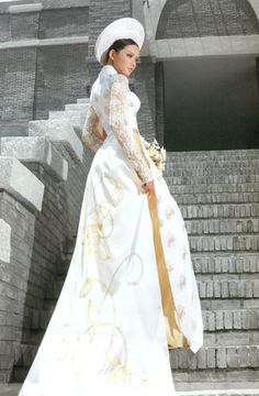 Wedding Season with Ao Dai ABC - Ao Dai - Wedding Vietnamese dress (ao dai) Ao  Dai 15de1402b0ef