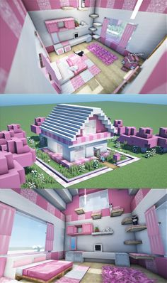 Minecraft Cottage, Minecraft Mansion, Cute Minecraft Houses, Minecraft House Tutorials, Minecraft Room, Minecraft Plans, Minecraft House Designs, Amazing Minecraft, Minecraft Blueprints