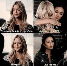 Emily Fields and Alison DiLaurentis