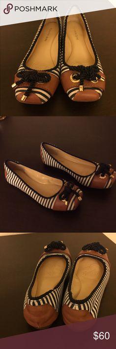 Gianni Bini Flats 7.5 Gianni Bini Sawyer Nautical Stripe Flats | Dillards size 7.5 Gianni Bini Shoes Flats & Loafers