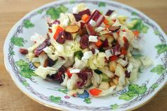 Chopped salad that's supposed to last for days in the fridge. Might be a good work lunch option.