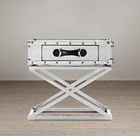 Trans-Atlantic Steamer Trunk Side Table   Side & Item Tables   Restoration Hardware