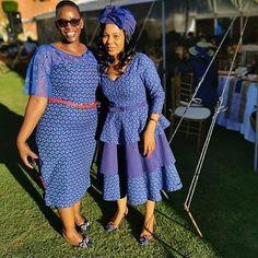 African Dresses For Women, African Attire, African Fashion Dresses, African Outfits, African Clothes, Seshoeshoe Dresses, Shweshwe Dresses, Ankara Skirt And Blouse, Dress Attire
