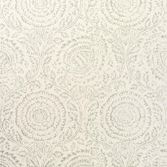 Kamala Silver Wallpaper by Kravet Wallpaper