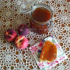 Peach Jam !! Αγάπα Με Αν...Dολμάς!: Μαρμελάδα Ροδάκινο