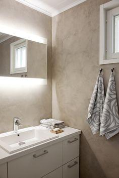 Näytä kuva isona Bathroom Lighting, Toilet, Sweet Home, Bathtub, Mirror, Interior Design, Mars, Furniture, Bathrooms