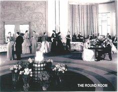 Round Room circa 1931 #Carlu Eaton College, Private Dining Room, Auditorium, 1930s, Toronto, Art Deco, Ocean, Culture, History