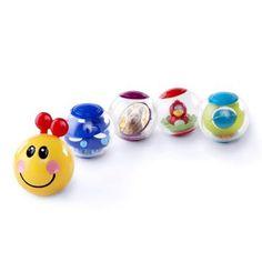 Brooke.  Baby Einstein Roller-pillar Activity Balls Toy - Walmart.com