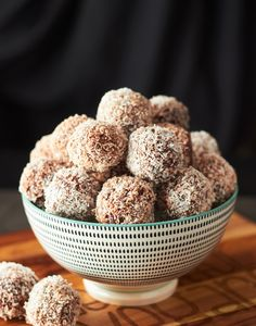 Chocolate Cherry Bliss Bombs