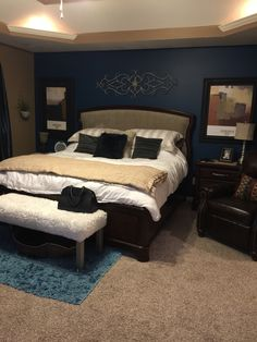 Indigo taupe black white and aqua i love these colors for Black white taupe bedroom