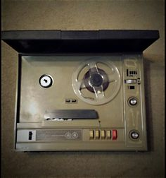 GE Reel to Reel Tape Recorder Allegro 1973 Model 8050A on Etsy, $60.00