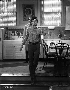 Audrey Hepburn and Richard Crenna In Wait Until Dark Movie Scene - Pho...