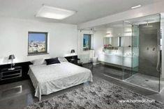 Modernos Baños Integrados Al Dormitorio. Bedroom With Bathroom Interior  Design ...