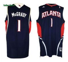 NBA Atlanta Hawks #1 Tracy McGrady Jersey