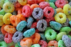 "Fruit loops! (""froot loops"")"