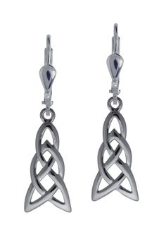 Celtic Knot Dangly Earrings