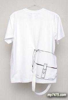 趣味T恤,创意T恤,T恤创意,T恤设计,服装设计,时尚服饰,创意,设计,创意设计
