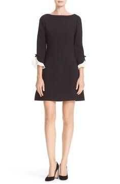 katespade new yorkruffle sleeve shift dress available at #Nordstrom