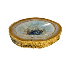 Small Natural Agate Catchall Bowl