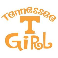 UNIVERSITY OF TENNESSEE VOLUNTEERS GIRL clear vinyl decal car truck UT Sticker