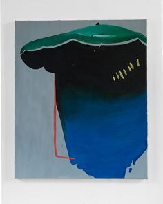 Veerle Beckers 2016 'Zink' Oil on canvas