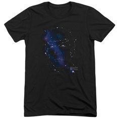 Star Trek Spock Constellations Adult Tri-Blend T-Shirt