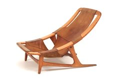 Holmenkollen lounge chair. Norwegian design classic. Matti Klenell told me he has one of these at home. Designer: Arne Tidemand Ruud (ca 1959)